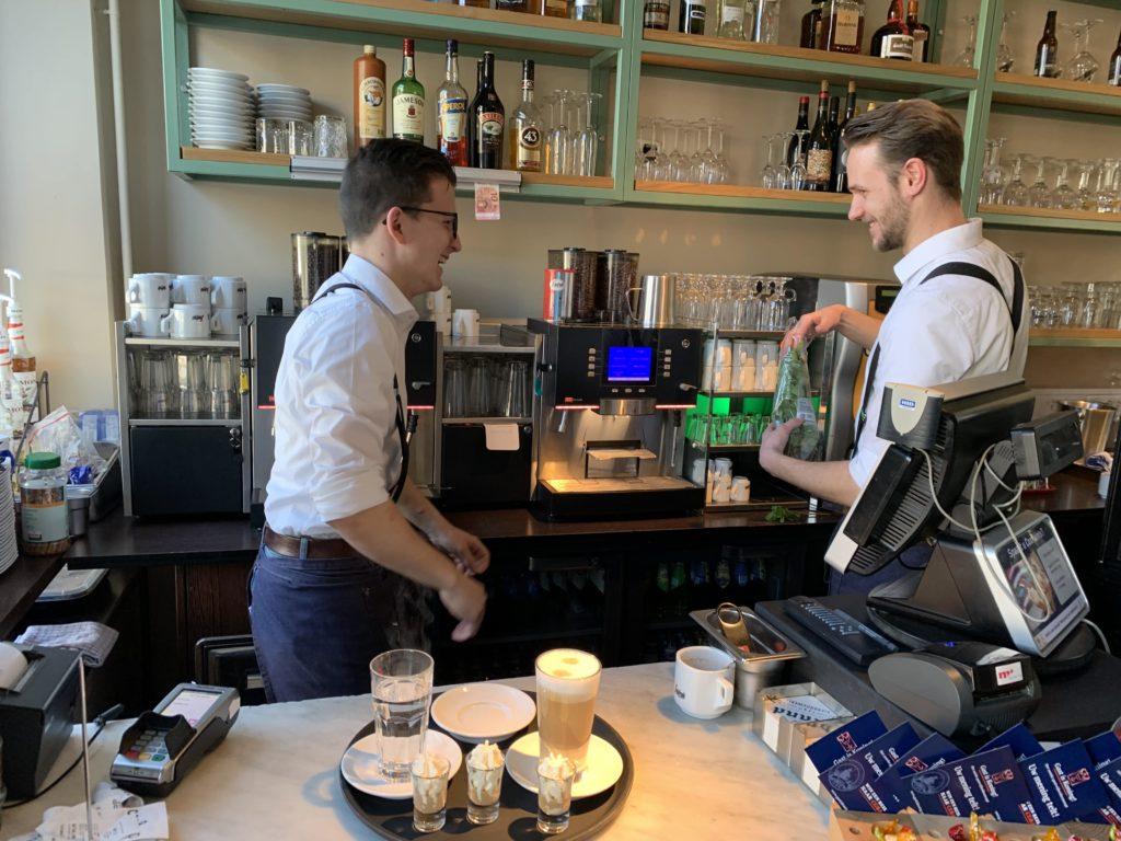 Koffie maken Markt 10